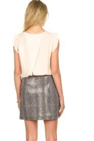 Patrizia Pepe |  Snake printed skirt Lara | animalprint  | Picture 5