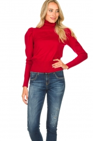 Kocca | Turtle neck Dawn | red  | Picture 4