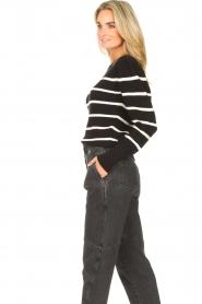 Set   Katoenen trui met fijne pof Louise   zwart     Afbeelding 5