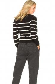 Set   Katoenen trui met fijne pof Louise   zwart     Afbeelding 6