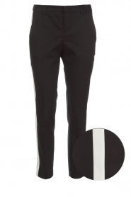 Set |  Trousers with side stripes Lorena | black  | Picture 1
