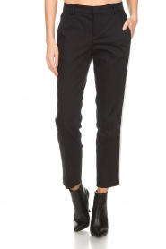 Set |  Trousers with side stripes Lorena | black  | Picture 3