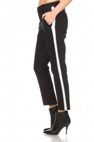 Set |  Trousers with side stripes Lorena | black  | Picture 4