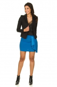 Patrizia Pepe |  Mini skirt Zara | blue  | Picture 3