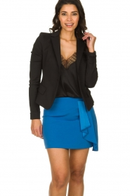 Patrizia Pepe |  Mini skirt Zara | blue  | Picture 2