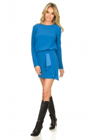 Patrizia Pepe |  Mini skirt Zara | blue  | Picture 3