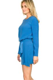 Patrizia Pepe |  Mini skirt Zara | blue  | Picture 4