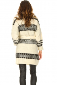 Set |  Knitted cardigan with aztec print Polly | natural  | Picture 6
