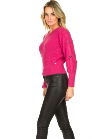 Kocca :  Sweater with sleeve details | pink - img4