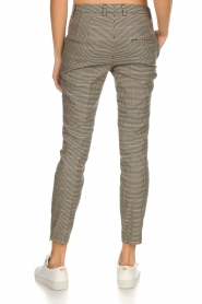 Set |  Houndstooth trousers Hailey | brown  | Picture 5