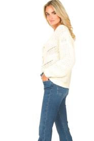 Set |  Knitted cardigan Kaya | natural  | Picture 6