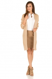 Patrizia Pepe |  Skirt Chiara | brown  | Picture 3
