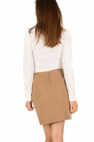 Patrizia Pepe |  Skirt Chiara | brown  | Picture 5
