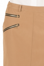 Patrizia Pepe |  Skirt Chiara | brown  | Picture 6