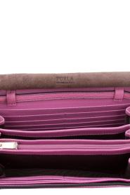 Furla | Leren schoudertas Like | Roze  | Afbeelding 5