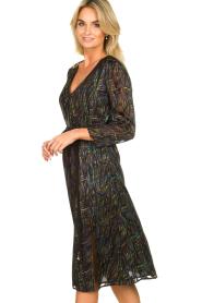 Patrizia Pepe | Dress with print Samantha | black  | Picture 4