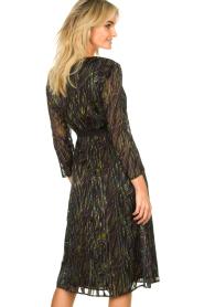 Patrizia Pepe | Dress with print Samantha | black  | Picture 5