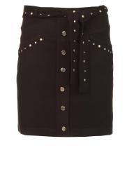 Kocca |  Studded skirt Plyn | black  | Picture 1