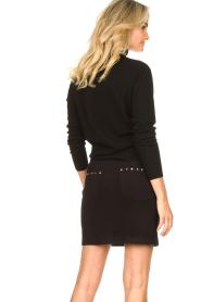 Kocca |  Studded skirt Plyn | black  | Picture 6