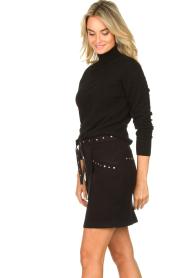 Kocca |  Studded skirt Plyn | black  | Picture 5