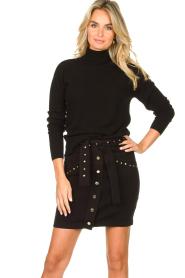 Kocca |  Studded skirt Plyn | black  | Picture 2