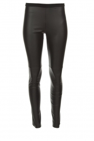Set |  Faux leather leggings Sas | black  | Picture 1