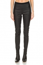Set |  Faux leather leggings Sas | black  | Picture 3
