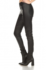 Set |  Faux leather leggings Sas | black  | Picture 4