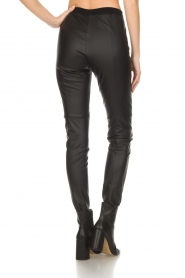 Set |  Faux leather leggings Sas | black  | Picture 5
