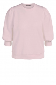 Set |  Sweater with puff sleeves Femke | pink  | Picture 1