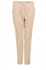 Hoss Intropia | Rib pantalon Sandra | sand   | Afbeelding 1