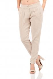Hoss Intropia | Rib pantalon Sandra | sand   | Afbeelding 2