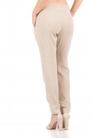 Hoss Intropia | Rib pantalon Sandra | sand   | Afbeelding 5