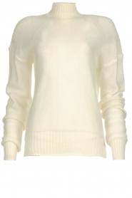 Patrizia Pepe |  Knitted turtle neck Bibi | natural  | Picture 1