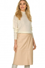 Patrizia Pepe |  Knitted turtle neck Bibi | natural  | Picture 2