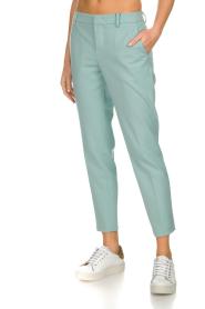 Set | Klassieke pantalon Nora | blauw  | Afbeelding 4