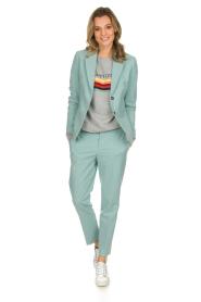 Set | Klassieke pantalon Nora | blauw  | Afbeelding 2