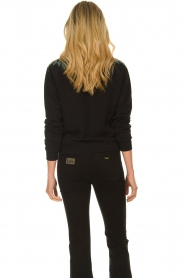 Patrizia Pepe |  Sweater with  sequins | black  | Picture 5