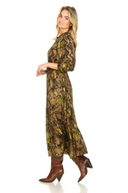 Kocca |  Printed maxi dress Jervase | green  | Picture 4