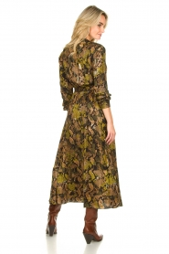 Kocca |  Printed maxi dress Jervase | green  | Picture 5