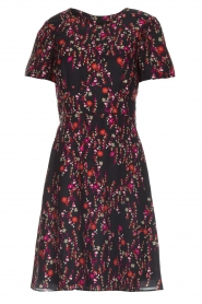 Set |  Dress with floral print Aria | black  | Picture 1