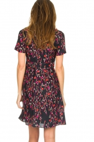 Set |  Dress with floral print Aria | black  | Picture 6