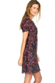 Set |  Dress with floral print Aria | black  | Picture 5