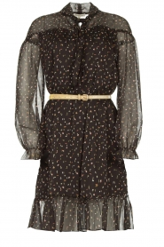 Kocca    Print dress Patels   black    Picture 1