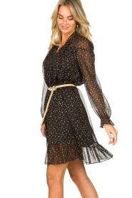 Kocca    Print dress Patels   black    Picture 5
