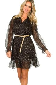 Kocca    Print dress Patels   black    Picture 2