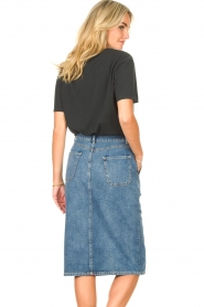 Set |  Midi denim skirt Remy | blue  | Picture 6