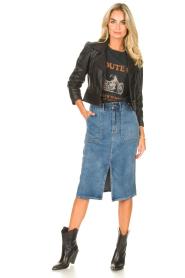 Set |  Midi denim skirt Remy | blue  | Picture 3