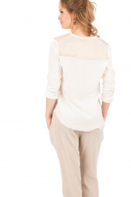Hoss Intropia | Blouse Varo | off-white  | Afbeelding 5