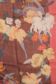 Becksöndergaard | Luxe sjaal Rosea | roze  | Afbeelding 5